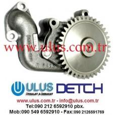 6136-52-1100 Yağ pompası S6D110 Motor KOMATSU