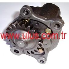 6151-51-1001 Yağ pompası S6D125 Motor KOMATSU