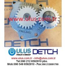 3991123 Yağ pompası QSC8.3 Motor CUMMINS