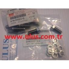 0-91111510-0 Supap ayar somunu 6HK1 Motor Isuzu