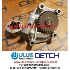 123900-32000 Yağ pompası 4TNV106 Motor YANMAR