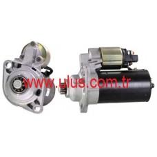 001124001 Marş Motoru 12v 10 Diş 1,4 KW Volkswagen Bosch Tipi